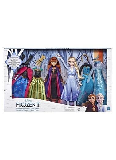 Hasbro Hasbro E8750 Disney Frozen 2 Elsa Ve Anna Moda Oyuncak Bebek Seti Renkli